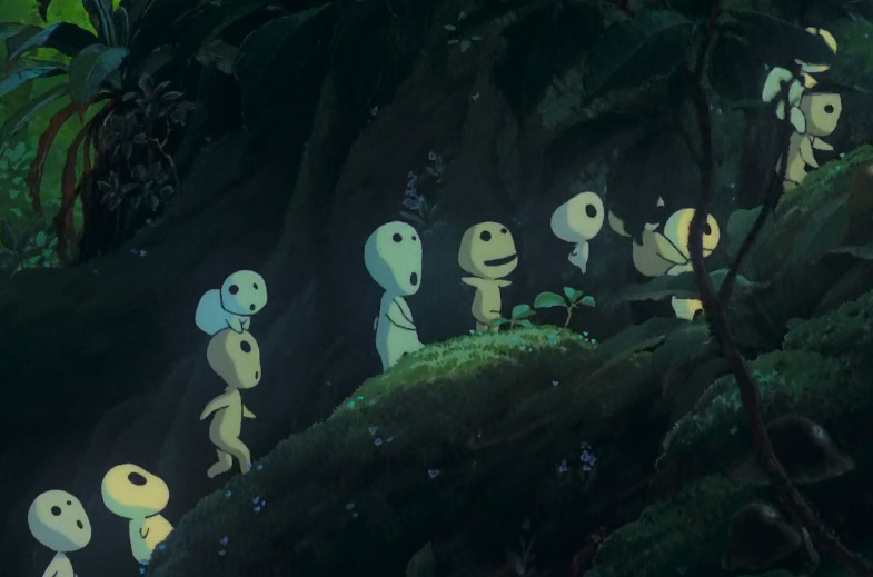 The Creatures Of Princess Mononoke What About Drinks